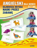 Ebook Angielski dla dzieci 3-7 lat. Najnowsza metoda nauki przez zabawę. Karty obrazkowe - czytanie globalne. Body, House, Fruit, Farm animals, Numbers 1-10, Family, Clothes, Toys