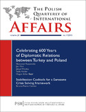 Ebook The Polish Quarterly of International Affairs nr 1/2015