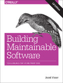 Ebook Building Maintainable Software, C# Edition. Ten Guidelines for Future-Proof Code