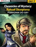 Ebook Chronicles of Mystery: Rytuał Skorpiona - poradnik do gry