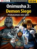 Ebook Onimusha 3: Demon Siege - poradnik do gry