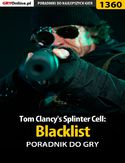 Ebook Tom Clancy's Splinter Cell: Blacklist - poradnik do gry