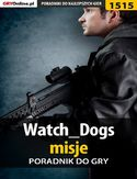 Ebook Watch Dogs - misje - poradnik do gry