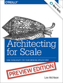 Ebook Architecting for Scale. High Availability for Your Growing Applications