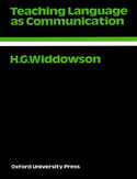 Ebook Teaching Language as Communication - Oxford Applied Linguistics
