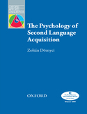 Ebook The Psychology of Second Language Acquisition - Oxford Applied Linguistics