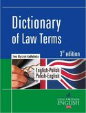 Ebook Dictionary of Law Terms. Słownik terminologii prawniczej English-Polish/Polish-English