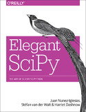 Ebook Elegant SciPy. The Art of Scientific Python