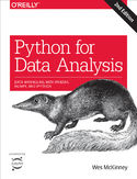 Ebook Python for Data Analysis. Data Wrangling with Pandas, NumPy, and IPython. 2nd Edition
