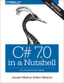 Ebook C# 7.0 in a Nutshell. The Definitive Reference
