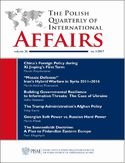Ebook The Polish Quarterly of International Affairs nr 3/2017