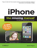 Ebook iPhone: The Missing Manual. Covers iPhone 4 & All Other Models with iOS 4 Software. 4th Edition