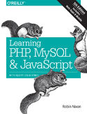 Ebook Learning PHP, MySQL & JavaScript. With jQuery, CSS & HTML5. 5th Edition