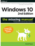 Ebook Windows 10: The Missing Manual. The book that should have been in the box. 2nd Edition