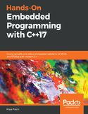 Ebook Hands-On Embedded Programming with C++17