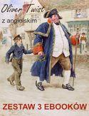Oliver Twist z angielskim. Zestaw 3 ebooków