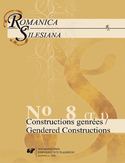 Ebook Romanica Silesiana. No 8. T. 1: Constructions genrées / Gendered Constructions