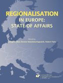 Ebook Regionalisation in Europe: The State of Affairs
