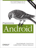Ebook Programming Android. Java Programming for the New Generation of Mobile Devices. 2nd Edition
