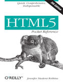 Ebook HTML5 Pocket Reference. 5th Edition