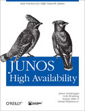 Ebook JUNOS High Availability. Best Practices for High Network Uptime