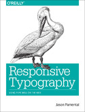 Ebook Responsive Typography. Using Type Well on the Web