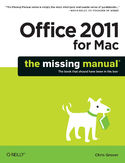 Ebook Office 2011 for Macintosh: The Missing Manual