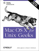 Ebook Mac OS X for Unix Geeks