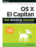 Ebook OS X El Capitan: The Missing Manual