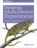 Ebook Designing Multi-Device Experiences. An Ecosystem Approach to User Experiences across Devices
