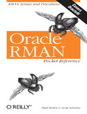 Ebook Oracle RMAN Pocket Reference