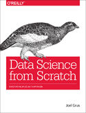 Ebook Data Science from Scratch. First Principles with Python