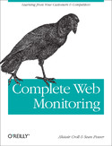 Ebook Complete Web Monitoring. Watching your visitors, performance, communities, and competitors