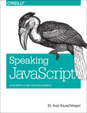 Ebook Speaking JavaScript. An In-Depth Guide for Programmers