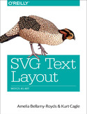 Ebook SVG Text Layout. Words as Art