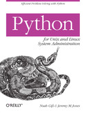 Ebook Python for Unix and Linux System Administration