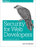 Ebook Security for Web Developers. Using JavaScript, HTML, and CSS