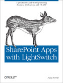 Ebook SharePoint Apps with LightSwitch