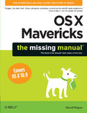 Ebook OS X Mavericks: The Missing Manual