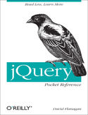 Ebook jQuery Pocket Reference