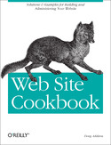 Ebook Web Site Cookbook. Solutions & Examples for Building and Administering Your Web Site