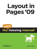 Layout in Pages '09: The Mini Missing Manual