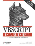 VBScript in a Nutshell. 2nd Edition