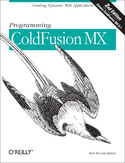 Ebook Programming ColdFusion MX. Creating Dynamic Web Applications. 2nd Edition
