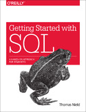 Ebook Getting Started with SQL. A Hands-On Approach for Beginners