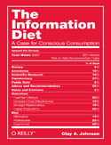 Ebook The Information Diet. A Case for Conscious Comsumption