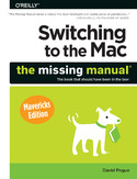 Ebook Switching to the Mac: The Missing Manual, Mavericks Edition