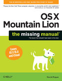 Ebook OS X Mountain Lion: The Missing Manual