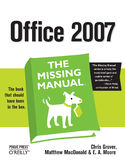 Ebook Office 2007: The Missing Manual. The Missing Manual