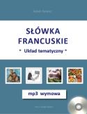 S��wka francuskie-uk�ad tematyczny + mp3 wymowa